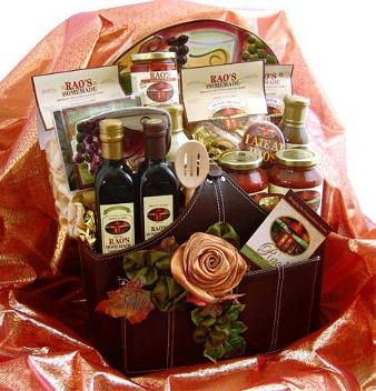 Rao's Autumn Leaves  Gift Basket