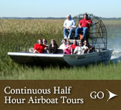 Boggy Creek Half Hour Airboat Tours