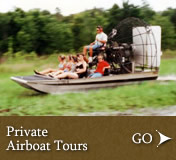 Boggy Creek Private Airboat Tours