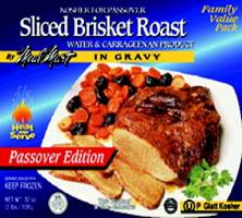 Sliced Brisket Roast